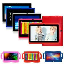 "Quad Core 7"" Tablet for Kids 8GB HD Android 4.4 Dual Camera WIF + Rubber Case ☪R"