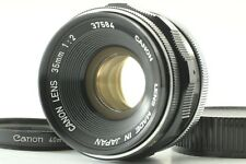 【Exc+++++】 Canon 35mm f/2 Wide Angle MF Lens L39 LTM Leica Screw From JAPAN 6283