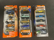 🔥Matchbox 5-Pack 3 Pack Lot - MBX Off-ROAD - MBX SERVICE AND EXOTIC 5 Pack🔥
