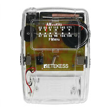 TR624 Pocket FM/AM Transparent Radio Communication Handheld Device HeadsetSport