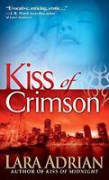 Kiss of Crimson (The Midnight Breed, Book 2) By Lara Adrian