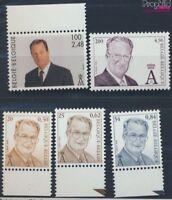 Belgien 3030-3034 postfrisch 2001 Albert (8776980
