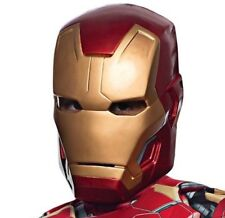 Iron Man Civil War DELUXE HELMET Mask Adult Costume One Size Age 14+ New
