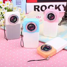 Neu 1Stk Mini Niedliche Süße Kamera Form Kugelschreiber für Kinder Farbe Random
