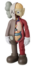 """BRAND NEW KAWS COMPANION BROWN Flayed Open Edition 8"""" Figure Half Dissected"""