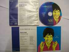 NICK HARVEY'S POP STAR - Cavendish Music Library – 1998 UK CD – Pop Themes