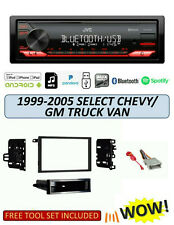 JVC KD-X270BT Stereo Kit for Select 1999-2005 GMC/Chevrolet Van Trucks