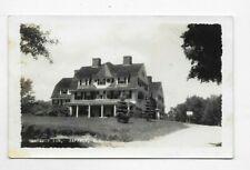 1939 RPPC Postcard SHATTUCK INN Jaffrey NH R168