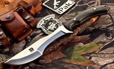 CFK USA Custom Handmade D2 Bushcraft Tracker Hunting Skinning Blade Knife Knives