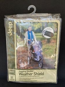 Jeep Jogging Stroller Weather Shield Protects Baby from Rain Snow Wind Cold