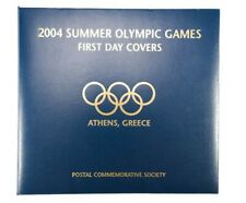 2004 Summer Olympic Games Complete Set of First Day Covers Stamps and Binder