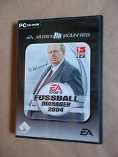 Fußball Manager 2004 (PC, 2005, DVD-Box) / Fussball Management Simulation Kult