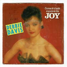 """Debbie DAVIS Disque Vinyle 45 tours 7"""" Chante du Film JOY - WEA 24 9705-7"""