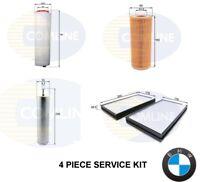 FOR BMW 525 D 525D E60 E61 SERVICE KIT OIL AIR FUEL DIESEL CABIN POLLEN FILTER