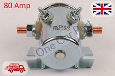 Universal 12V Solenoid - 4 Terminal and Mounting Bracket - 132939 - Winch/Tipper