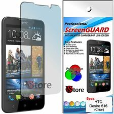 5 Pellicola Per HTC Desire 516 Proteggi Salva Schermo Display