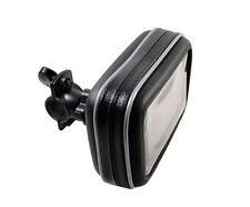 "Bike Motorbike Handlebar Mount & Case For 5"" Garmin Nuvi 54LM 52LM 2515 2595LM"