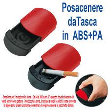 Mini posacenere tascabile per sigarette Porta cenere in  ABS