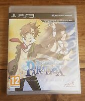 THE GUIDED FATE PARADOX Jeu Sur Sony PS3 Playstation 3 Neuf Sous Blister VF