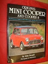 Original Mini Cooper and Cooper S : The Restorer's ... by Parnell, John Hardback
