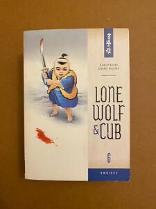 Lone Wolf and Cub Omnibus Volume 6 by Kazuo Koike OOP Manga
