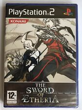 PS2 The Sword of Etheria (2006), Italian Version, New & Sony Factory Sealed