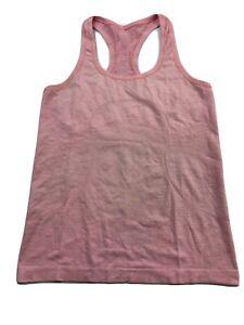 Lululemon Swiftly Tech Run Racerback Tank Top Shirt Pink Women's 8