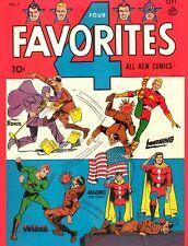 Golden Age Heroes 3 Zip Comics, Smash Comics and more on DVD