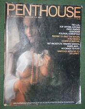 Penthouse Jan 1975 POM Juliet Morris Annette Kirkwood Victor Marchetti interview