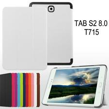 "8.0"" Tablet Flip Leather Case Stand Skin For Samsung Galaxy Tab S2 8.0 T710 T715"