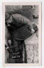1940s BLARNEY STONE Castle ORIGINAL Photograph PHOTO Cork Ireland IRISH Kissing