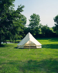 4M Bell tent lite by Canvastentshop the ultra lightweight bell tent glamping