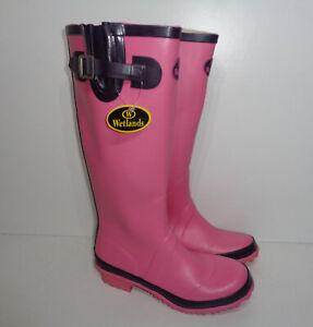 Ladies New Wellies Wide Festival Waterpoof Womens Wellington Boots UK Size 4