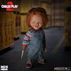 "Childs Play 2 Menacing Chucky Talking Mega Scale 15"" Figure Mezco Toyz"