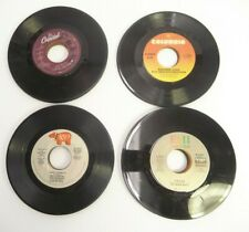 MIXED LOT OF 43 45 RPM RECORDS FROM 1980'S IN GOOD TO VERY GOOD CONDITION RETRO