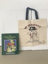 (ra) pocket dragons real musgrave Signed Book And Canvas Bag