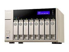 QNAP Tvs-863-4g 8 Bay Desktop NAS Enclosure With 4gb RAM 24 Months