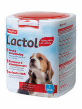 Beaphar Lactol 500g complete milk replacement feed for orphaned or weaning puppy