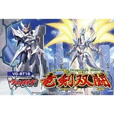 VG-BT16 Legion of Dragons & Blades 16th Booster BOX CARDFIGHT Vanguard japan .
