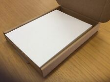 100 WHITE PEARLY PAPER SHEETS FOR INSERTS/DIE CUTS120gm (14.8 x 10.8cm) approx