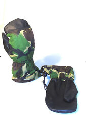 NEW BRITISH ARMY GLOVES DPM EXTREME COLD WEATHER MITTENS - Small Mens