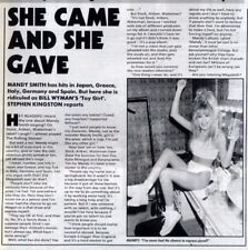 16/7/88pg9 Vintage Article & Picture, Mandy Smith
