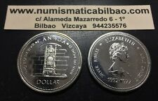 CANADA 1 DOLLAR 1977 SENATE JUBILEE KM#118 UNC PROOFLIKE Silver Dolar Plata