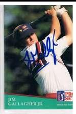 1991 Pro Set #115 Jim Gallagher Jr.  Auto