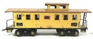 American Flyer 4011 Caboose Standard Scale Prewar Vintage Model Train Car B3-9