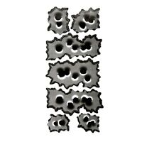 """5X(2 types """"32 bullet hole"""" for car motorcycle decal stickers K7K2)"""