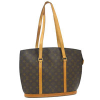 AUTHENTIC LOUIS VUITTON BABYLONE SHOULDER TOTE BAG MONOGRAM PURSE M51102 A41470d