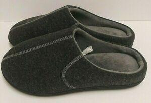 Men's Grey Isotoner Slip Ons NWOT  Size 9.5 - 10.5