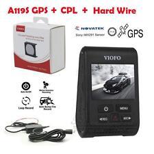 Car Dash Cam Camera Viofo A119S Novatek 96660 Gps Capacitor+Hard Wire+Cpl
