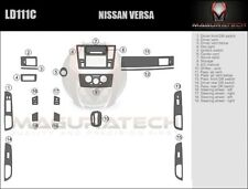 Fits Nissan Versa Sedan 2007-2012 Medium Premium Wood Dash Trim Kit